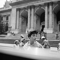Photo by full-time Chicago nanny Vivian Maier, whose hobby was photography. Undated, New York, NY