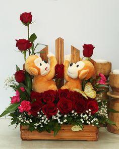 Valentines arrangement