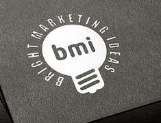 Креативный логотип рекламного агентства BMI