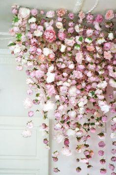 brides of adelaide magazine wedding ceremony backdrop flowers