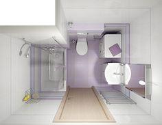 Paneláková koupelna I- levnější varianta - Inspirace - SAPHO koupelny