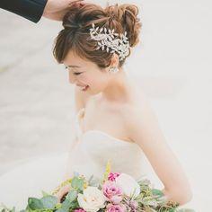 @luana.bridal - Instagram:「#ss_accessoriesrental 🌸マリアエレナレンタル🌸 レンタルさせていただいた花嫁さまからお写真をいただきましので、ポストします💖 mariaelena1056着用です。 .…」 Instagram, Fashion, Moda, Fashion Styles, Fashion Illustrations