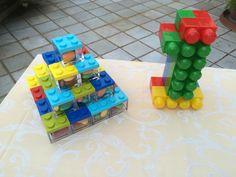 Scatoline portaconfetti Lego style