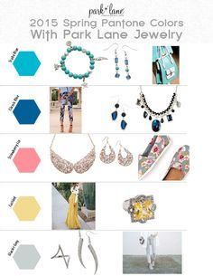 Park Lane Jewelry has something for every 2015 Spring Pantone there is!