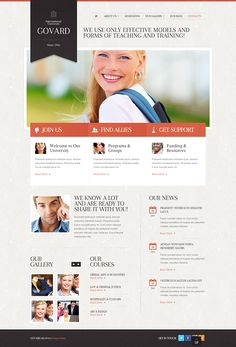 Perfect Business Joomla Template by Html5 Web Templates, via ...