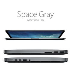 Space Gray Macbook Pro on Behance