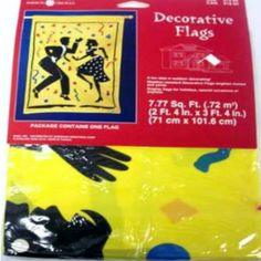 American Greetings Large Lawn Decorative Party Flag Dancing Let your guests know where the party is