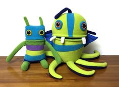 Funding on Etsy: Mr. Sogs Plush Creatures to Fund a New Studio Spac... #fundonetsy