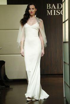 Badgley Mischka Bridal Fall 2013 - Slideshow - Runway, Fashion Week, Reviews and Slideshows - WWD.com