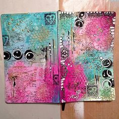 Moleskin Journal cover...May or may not be finished...lol!… | Flickr