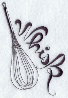 This is the whisk I want on the side of my hand.... MY NEXT TATTOO!!!!