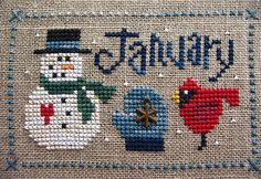 january by kunderwood {stitchy stitcherson}, via Flickr