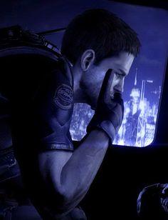 Chris Redfield by LadyAnnett.deviantart.com on @deviantART  Paul Walker resident evil character background