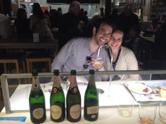 Winelovers from the US tasting Berlucchi Metodo Classico!
