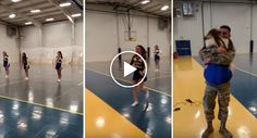 Military Brother Surprises His Cheerleader Sister In This Tearful Reunion http://www.iconicvideos.biz/military-brother-surprises-cheerleader-sister-tearful-reunion/