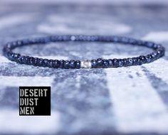 Men's bracelet, Citrine men, Men's citrine, Mens bead bracelet, Beaded bracelet, Thin bracelet, Armband, Seed bead men, Men's seed bead by DESERTDUSTMEN on Etsy