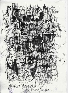 Adelin Donnay, Asemic writing