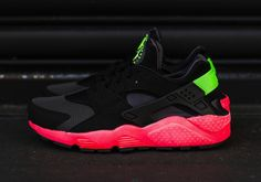 #Nike Air Huarache Hyper Punch #sneakers