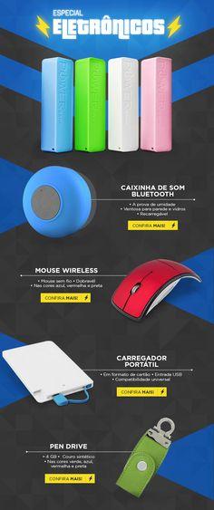 E-mail Marketing desenvolvido para a empresa 3RC Brindes. #design #webdesign #electronics #mkt #gif