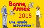 Bonne année 2015 de la part de Marie-Do et ses ados