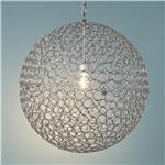 Circles Sphere Pendant Light - Medium