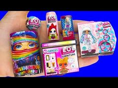 COOL DIY BARBIE MINIATURE LOL SURPRISE HACKS AND CRAFTS !!! - YouTube