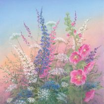 """""""Door County Bouquet"""" by Arnold Alaniz Art Floral, Pretty Pictures, Art Pictures, Watercolor Flowers, Watercolor Paintings, Painting Flowers, Original Paintings, Images D'art, Painting Lessons"""