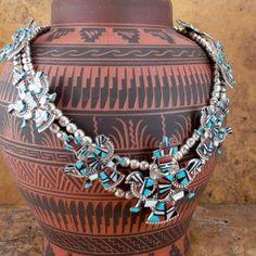 Squash blossom necklaces *...Very Unique design