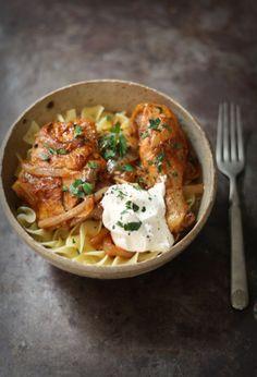 Hungarian Chicken Paprika Recipe | E.A.T.