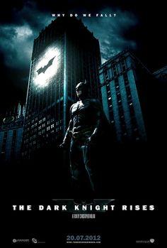 The Dark Knight Rises movie poster.