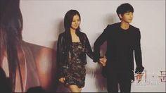 Innocent couple 👫 Thanks for the owner of the image. #niceguys #innocentman #chaeki #descendantsofthesun #goodbyemrblack #songjoongki #songjungki #moonchaewon