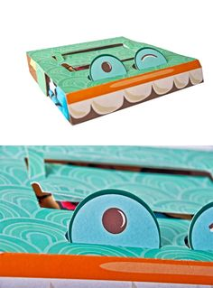 Speaking of teeth how about this T-shirt packaging by Verónica Jarquín (via Creattica) PD