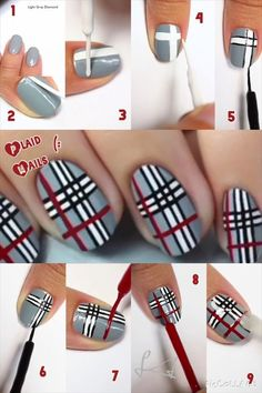 nail art diy * nail art designs ` nail art ` nail art designs for spring ` nail art videos ` nail art designs easy ` nail art designs summer ` nail art diy ` nail art tutorial Nail Art Hacks, Nail Art Diy, Easy Nail Art, Diy Nails, Manicure, Nail Nail, Nail Polish, Makeup Hacks, Nail Art Designs Videos