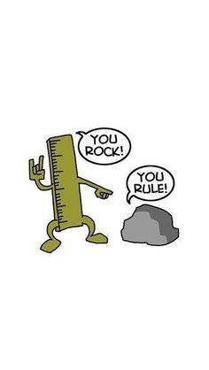 You Rock! & You Rule! BWAhahaha! - @mobile9 wallpapers