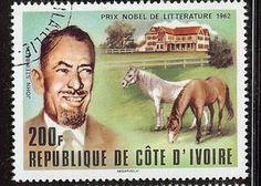Literary Stamps: Steinbeck, John (1902 – 1968)