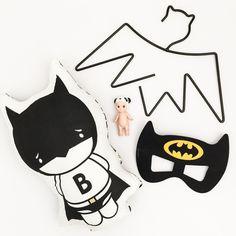 Monochrome Batman Toy