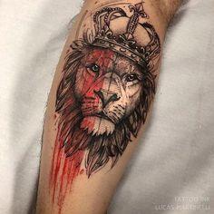 Quem aí já ouviu falar em Sketch ? Esse nome diferentão é dado a esse estilo de tattoo. Curtiram?  Tatuado