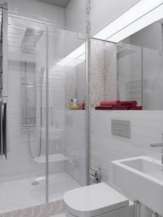 Apartamento espumoso blanco con Hideaway oficinas en casa