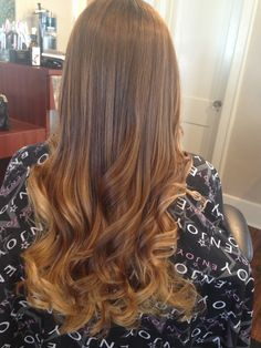 More Balayage and beauty from behind my chair. Brunette highlights using foils and Balayage