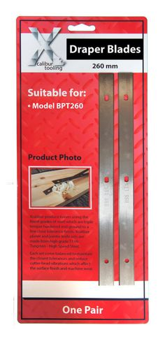 for Sedgewick 410mm HSS Resharpenable Planer Blades 1 Pair