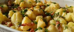 Cartofi taranesti cu kaizer si ceapa