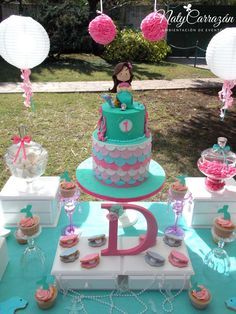 Little Mermaid Birthday Party Ideas | Photo 1 of 26