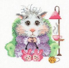 Cross Stitch Kit I knit to order