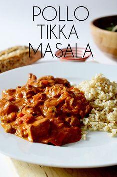 Supper Recipes, Spicy Recipes, Slow Cooker Recipes, Indian Food Recipes, Cooking Recipes, Ethnic Recipes, Pollo Tikka Masala, Chicken Tikka Masala, Tika Massala