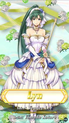Aww, looking cute Lyn, I always shipped her with Rath