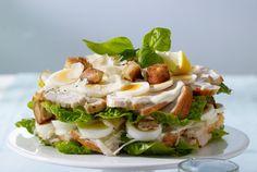 Unser beliebtes Rezept für Ceasar's Salad  mit Hähnchen und mehr als 55.000 weitere kostenlose Rezepte auf LECKER.de.