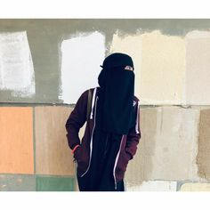 Black Hijab, Niqab Fashion, Face Veil, Beautiful Muslim Women, Hijab Niqab, Hijabi Girl, Girls Dpz, Islam, Poses