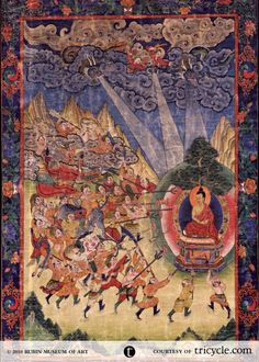 Shakyamuni Buddha and Mara #rubinmuseum