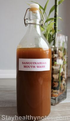 Sanguinarian Mouth Wash – Stay Healthy