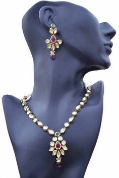 Aaishwarya Elegant Kundan Necklace Set #necklaceset #kundanjewellery